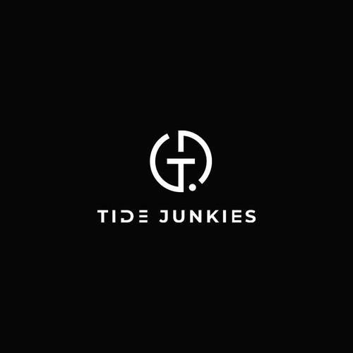 Logo for tide junkie