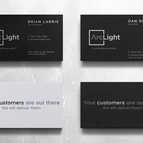 Business Card Design for Arclight