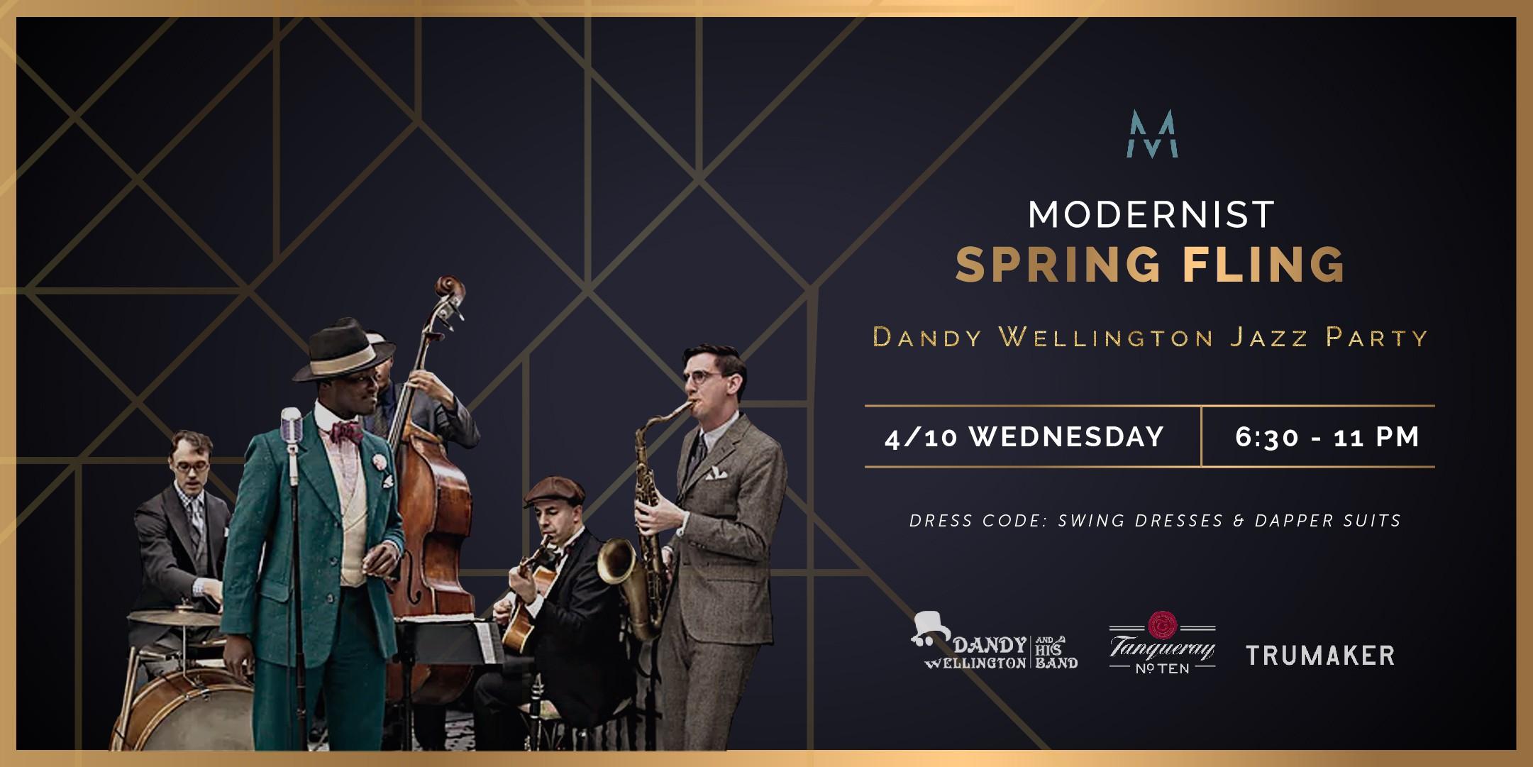 Modernist Spring Jazz Party