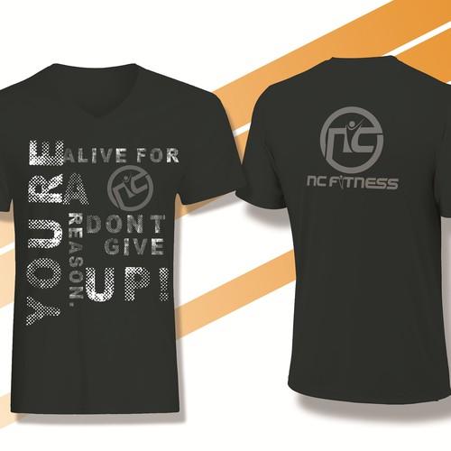 Creative, inspiring, motivational t-shirt design