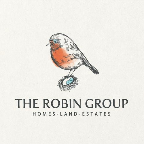 robin bird home logo