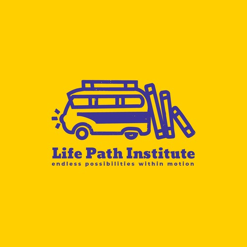 Hand-drawn logo concept for a life skills workshop