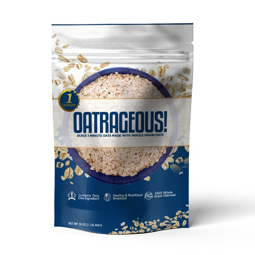 Oatmeal Packaging