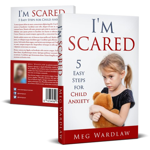Book cover for book for parents on overcoming child anxiety