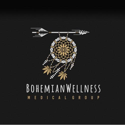 """""""Boho"""" Logo Style"""