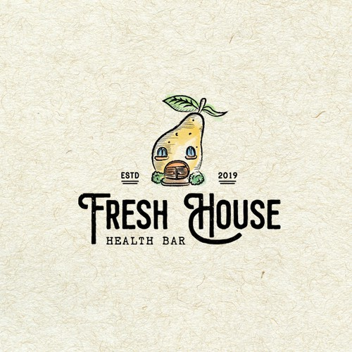 Illustrative logo for Fresh House Health Bar