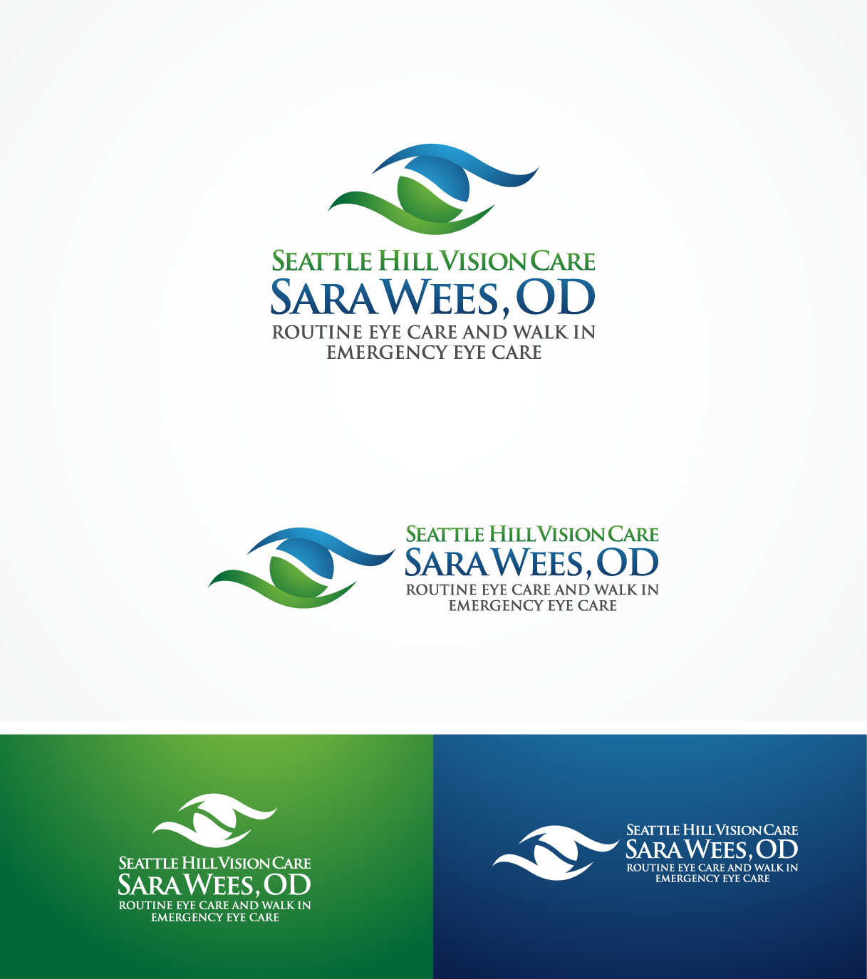 logo for Seattle Hill Vision Care