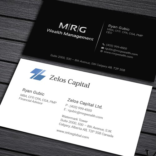 National Corporation Business Card Design