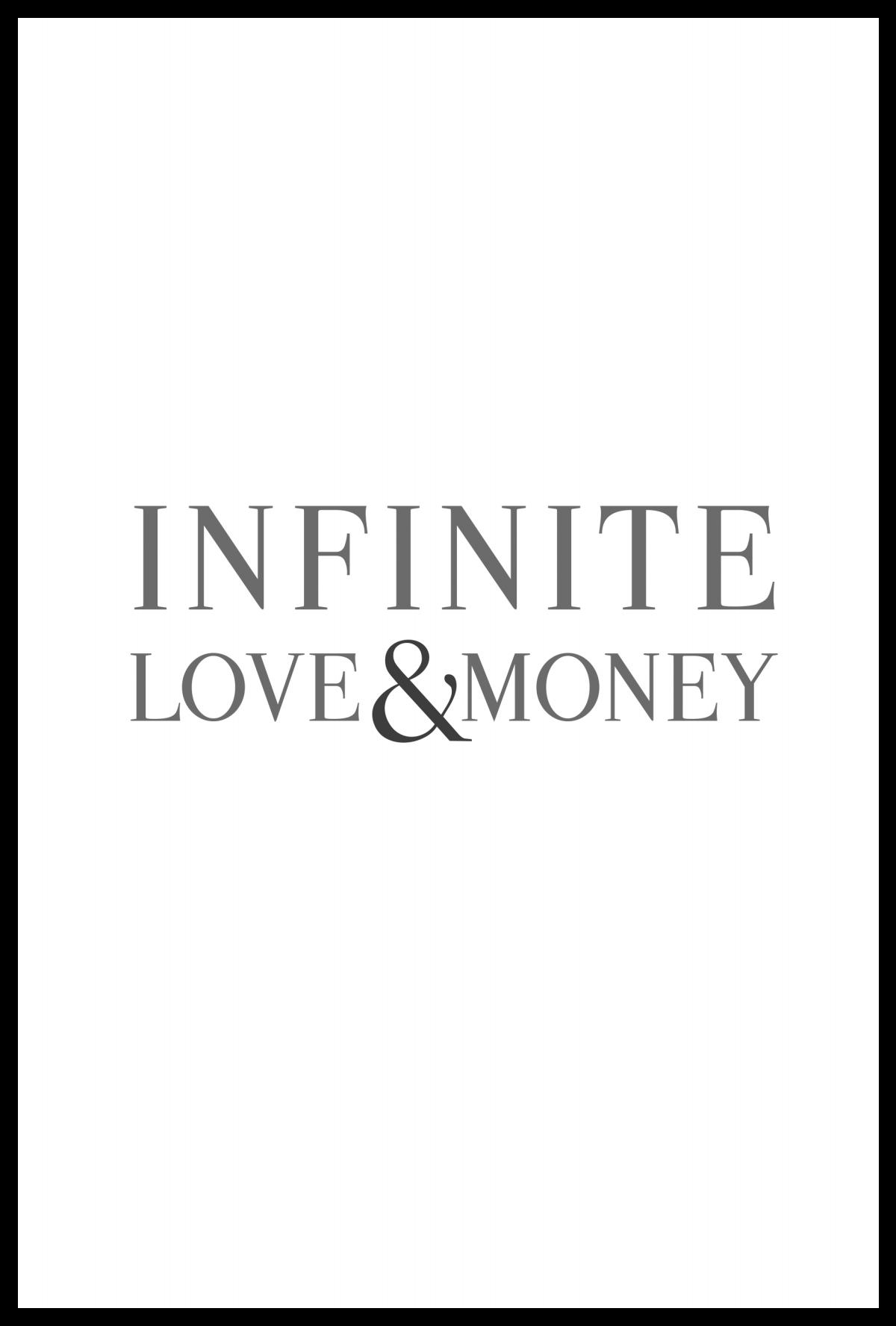 Infinite Love and Money - Cover & Typesetting