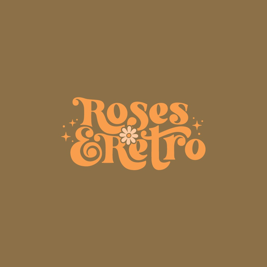 Groovy logo for vintage clothing store