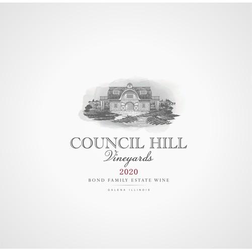 Council Hill Vineyards Logo