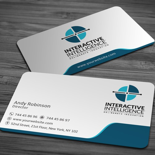 Elegant and Corporate Business Card