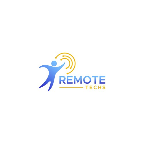Logo for Remote Techs service to appeal to technology leaders in Education