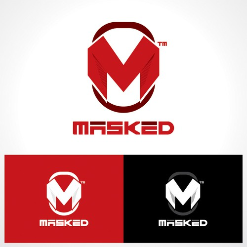 Create a superhero/villain worthy logo for Masked