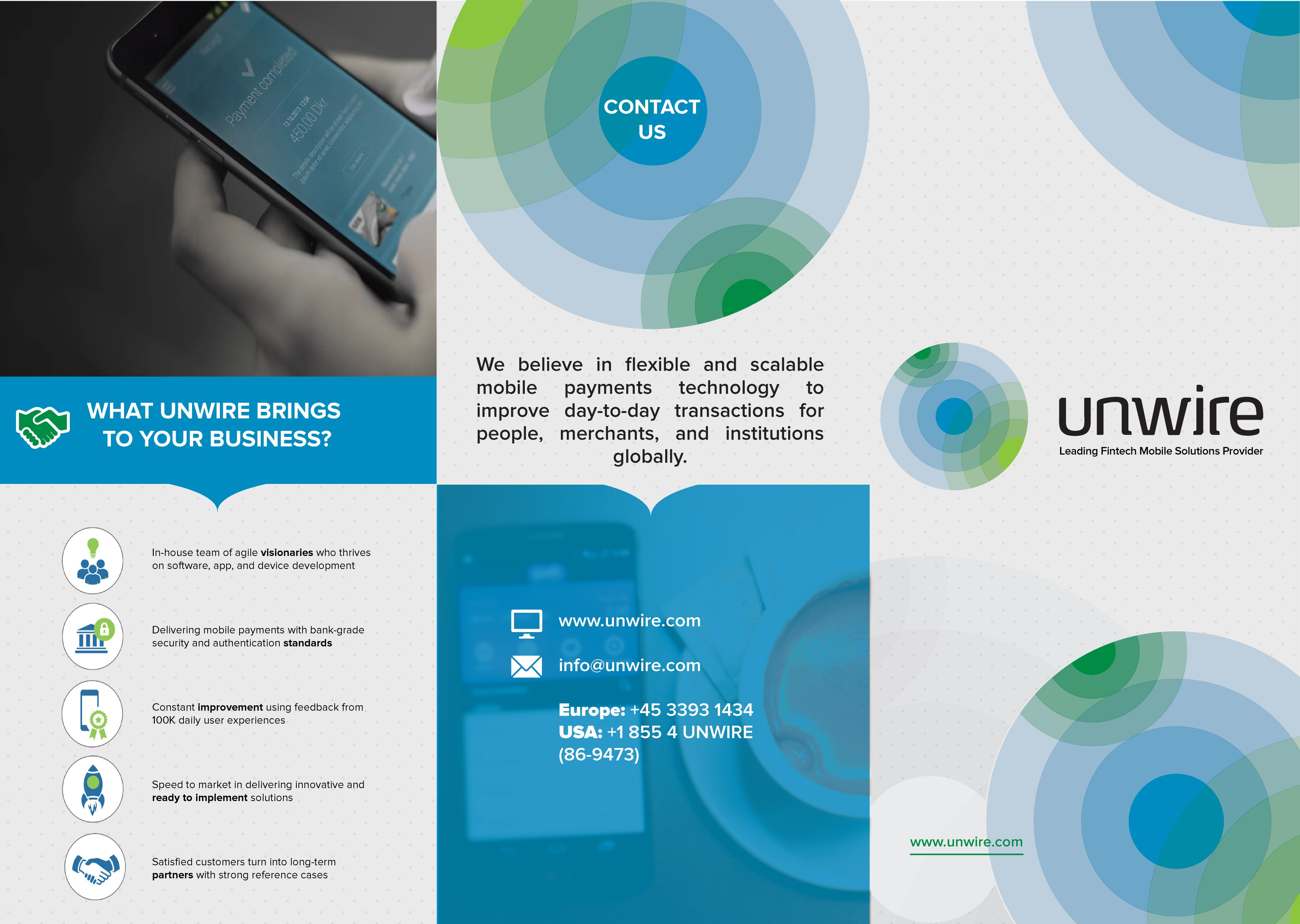 Mobile FinTech Brochure
