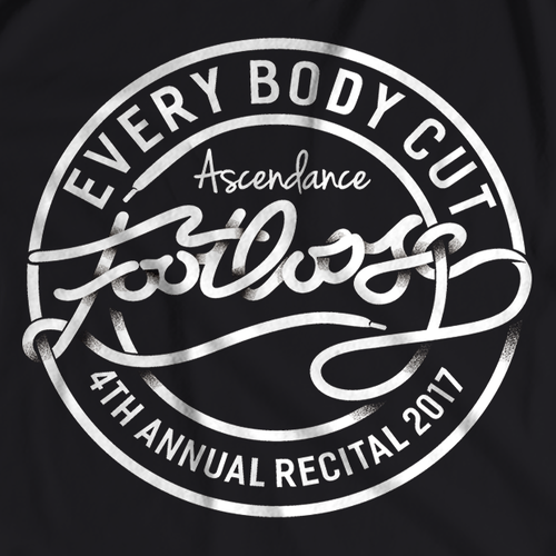 Footloose Cut Loose! - T shirt design for Dance Recital