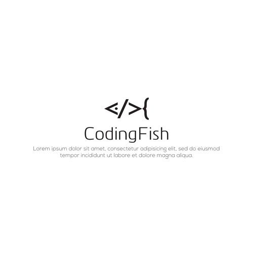 "Logo for ""Coding Fish"""