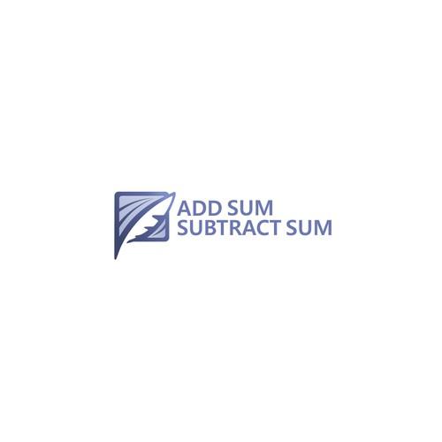 Classic Logo for Add sum subtract sum