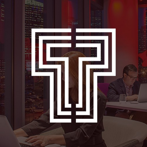 Create a modern, cutting edge logo for the most progressive real estate firm in the country