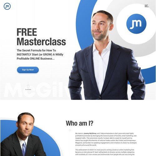Jeremy McGilvrey - Persoanl Website