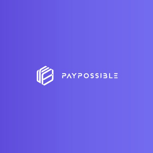 Isometric and minimalist logo for PayPossible