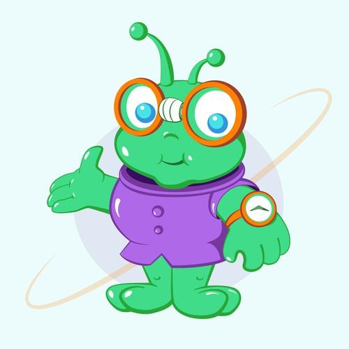 Geek Alien Character