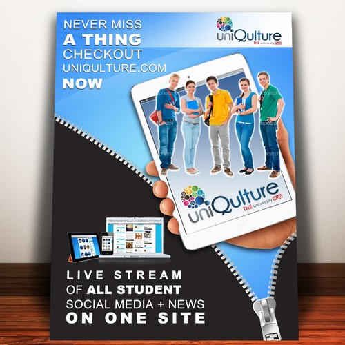 Create Flyer for UniQulture!!!! $299 Guaranteed  24Hours!!!!!!!