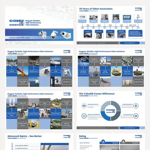 PowerPoint Template for Innovative Video Technology Company