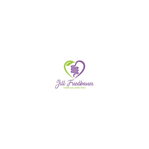 Love Health Hut Logo Design for Jill Friedbauer