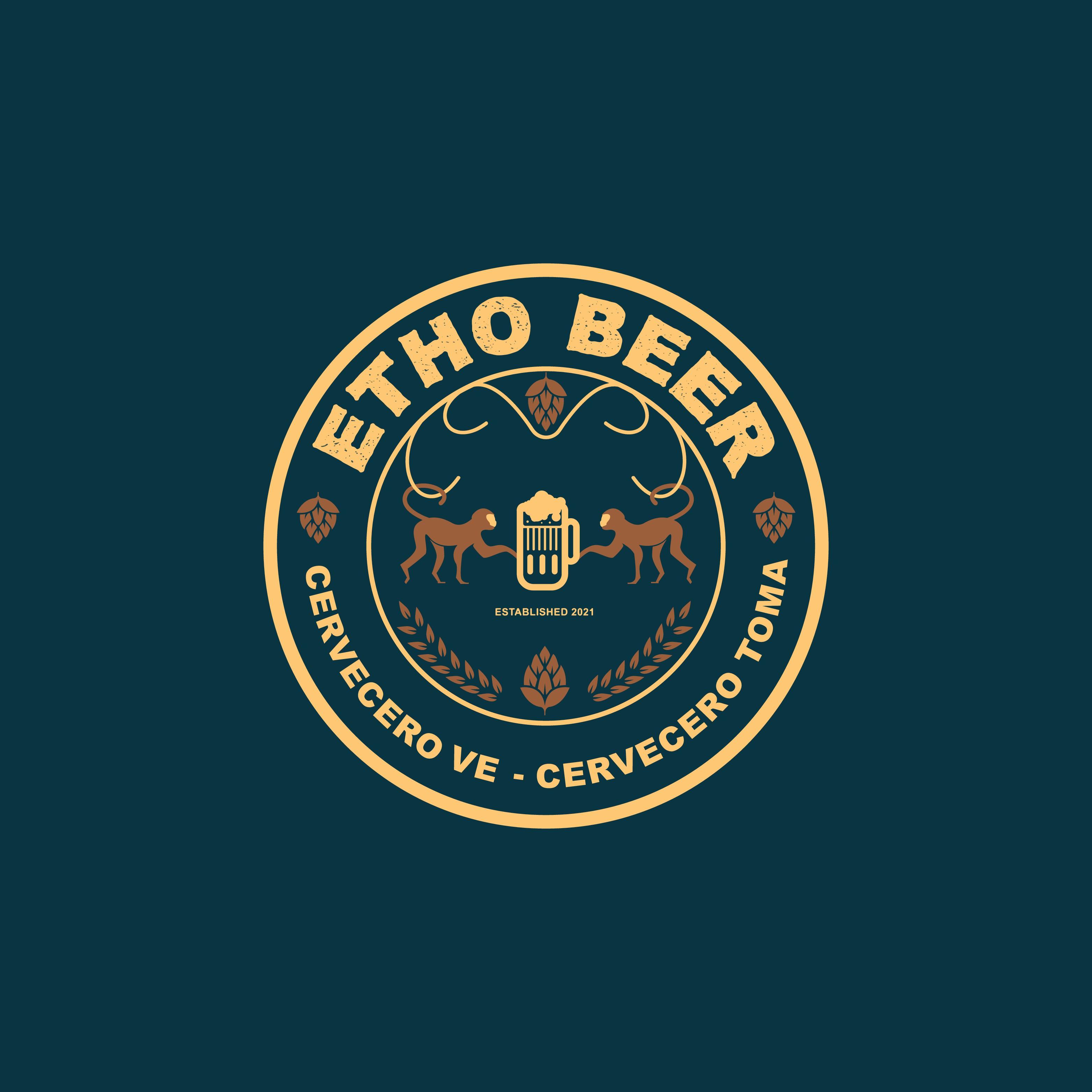 Necesitamos un diseño de logotipo para un bar de cerveza artesanal.