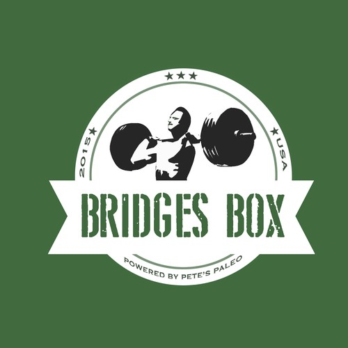 Bad Ass Logo For An Elite Athlete's Meal Plan Service