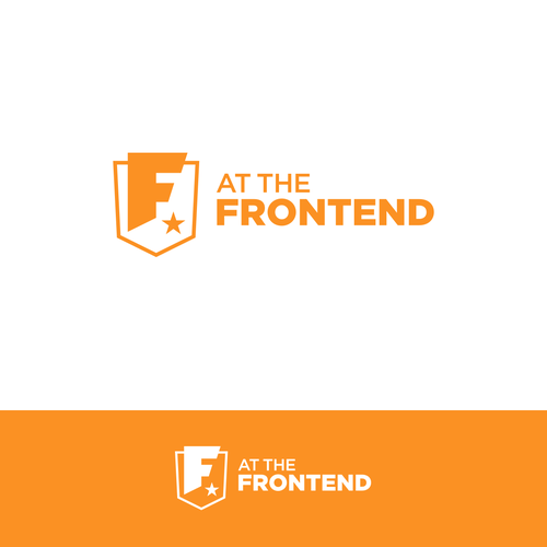 At the Frontend Design Conference Logo