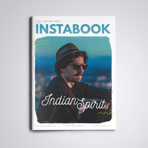 Magazine Cover for The Indian Face Instabook