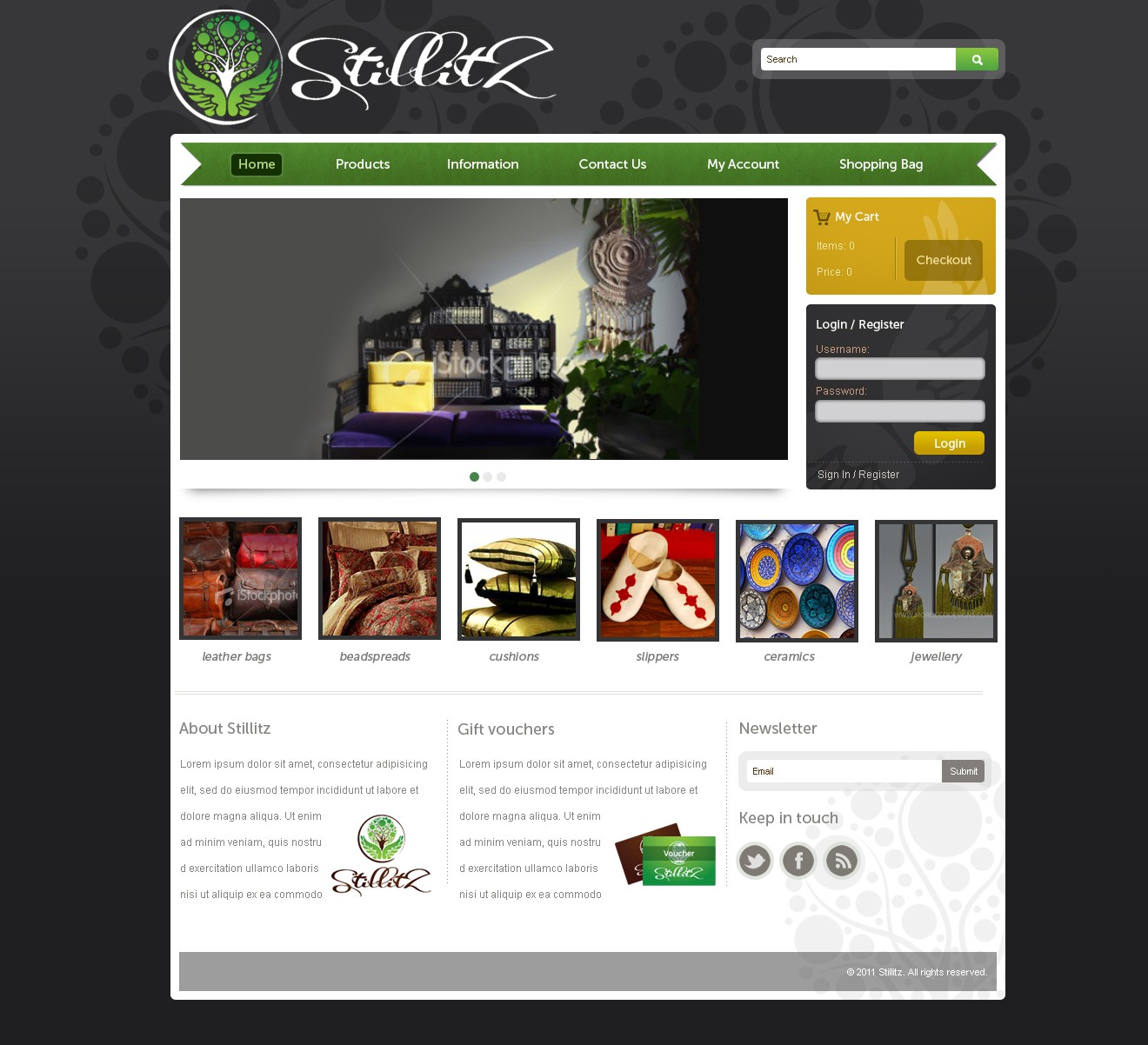 Stillitz  needs a new website design