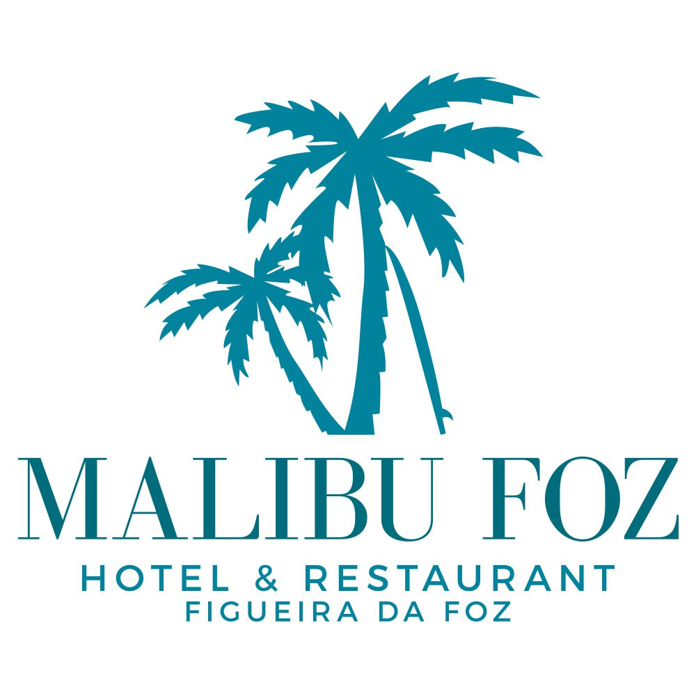 Design a logo for 4-star Malibu Foz Resort