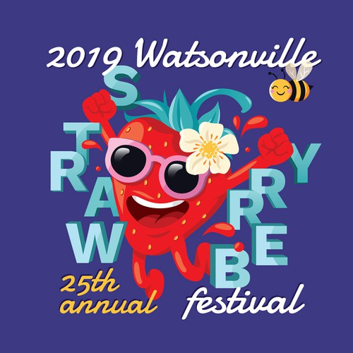 Key-Visual Character Strawberry Festival