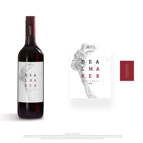 label red wine