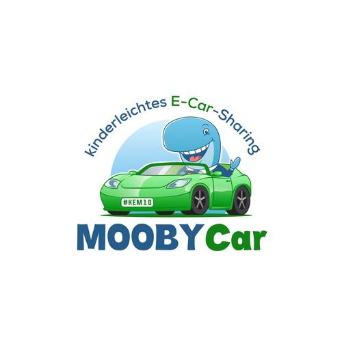MOOBYCar logo design
