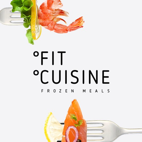 "Logo and package for  brand ""Fit Cuisine"" (Frozen food)"