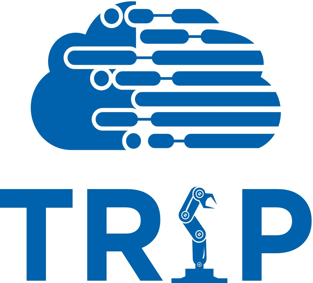 Logo for Cloud Computing and Big Data Analytics Applications in the Factory of the Future - TRiP