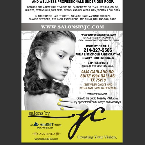 Create an ad for Salons by jc