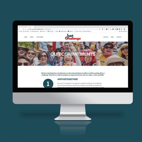 Web Design & Development for Just Challenge