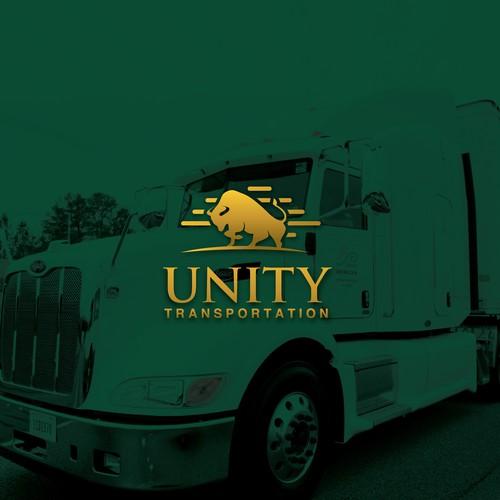 Logo for Unity Transportation.