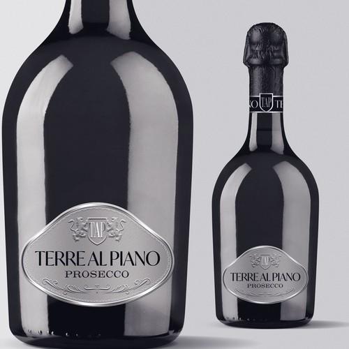Premium Prosecco Terre Al Piano Label Design