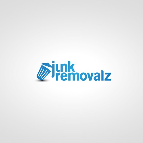 Junk removalz logo design