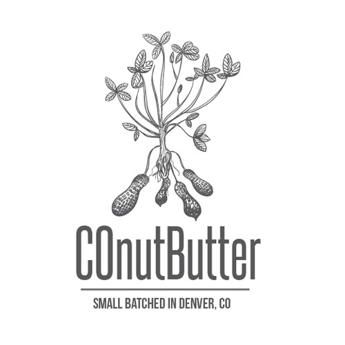 Natural nut butter logo