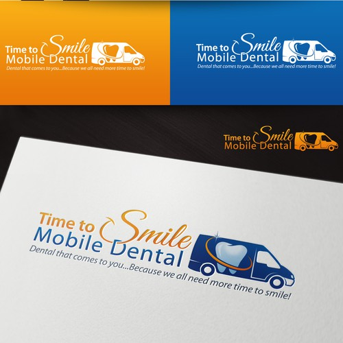 Our Dentists Come to You!  Design Logo for Top Mobile Dental Company!