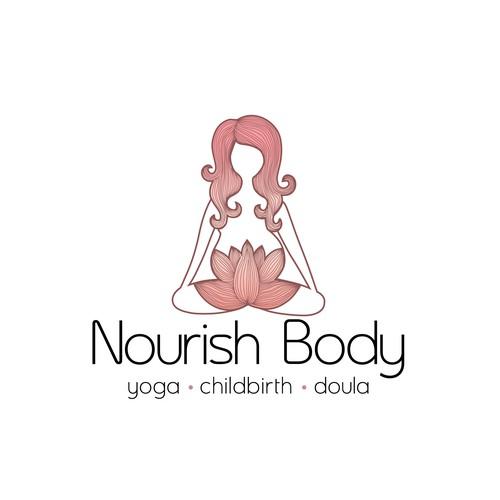 Logo for prenatal yoga teacher/doula
