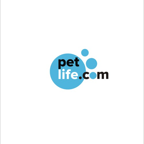 clean and eye catching logo for pet shop