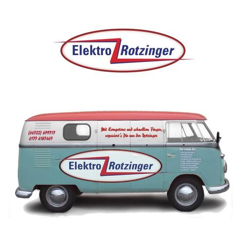 50's design to an old VW van